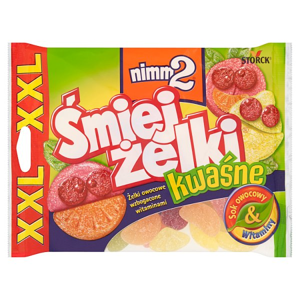 Żelki Śmiejżelki Nimm 2 kwaśne
