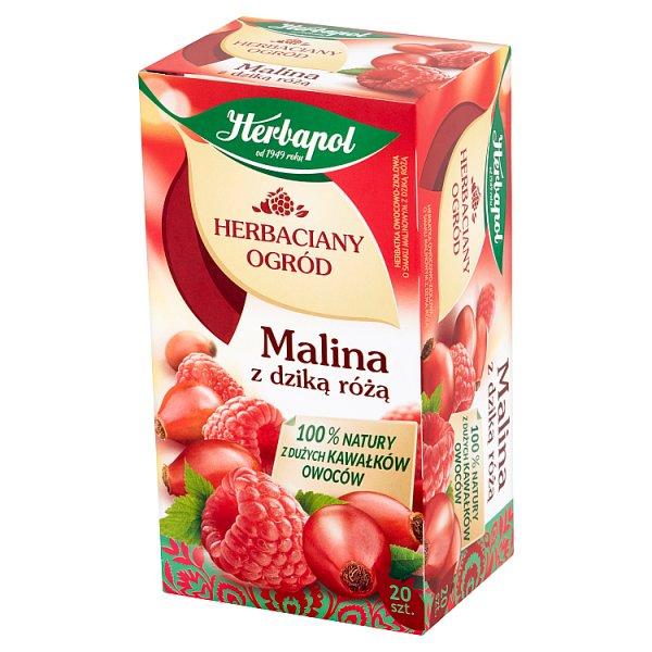 Herbata Herbaciany Ogród Malina z Dziką Różą