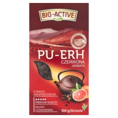 Herbata Big-Active Pu-Erh gerjpfrut earl grey