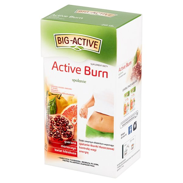 Herbata Big-Active la karnita