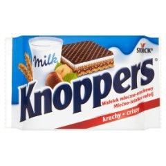 Wafelek Knoppers  mleczno-orzechowy