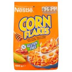 Płatki Corn flakes z miodem i orzechami