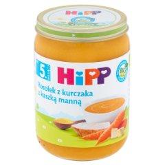 Zupka Hipp rosołek z kurczaka z kaszą manną