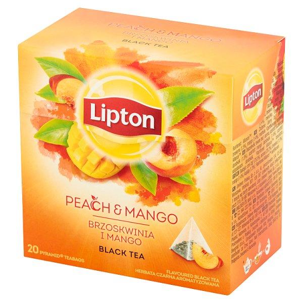 Herbata Lipton Brzoskwinia-Mango piramidka 20*1,8g