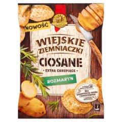 Chipsy wiejskie ziemniaczki ciosane rozmaryn