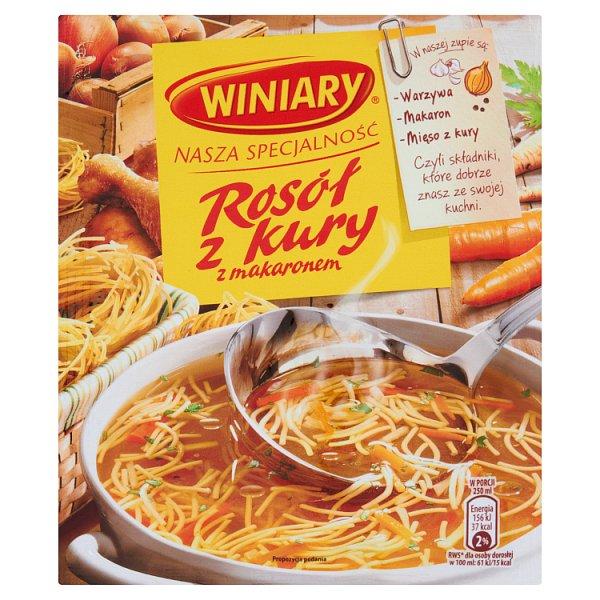 Zupa Winiary rsół z kury z Makaronem