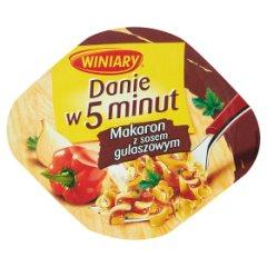 Danie w 5 minut Winiary makaron z Sosem gulaszowym