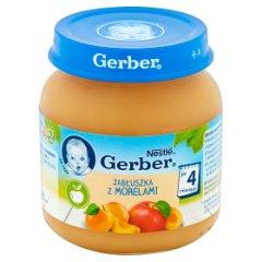 Gerber Jabłuszka z morelami po 4 miesiącu 125 g