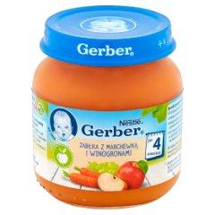 Deser gerber jabłka marchew i winogrona