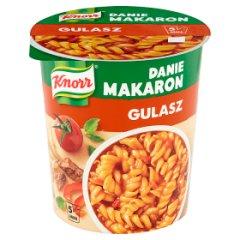 Makaron z sosem gulaszowym makaron z Sosem gulaszowym