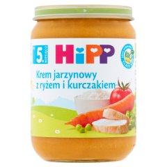 Danie Hipp krem ryżowo-jarzynowy z kurczakiem bio