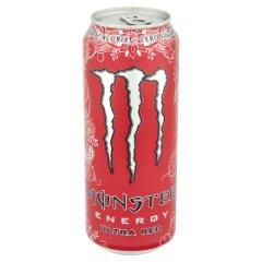 Napój energetyzujący monster ultra red