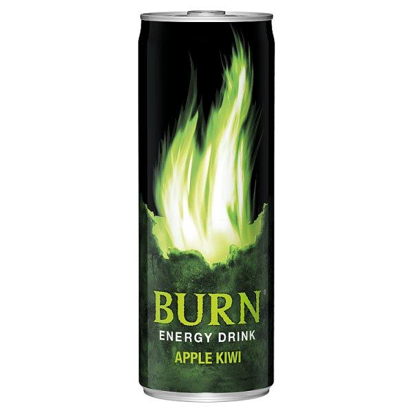 Napój energetyzujący Burn apple kiwi