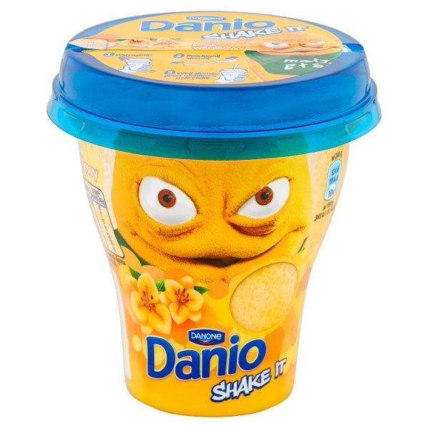 Danone Danio Shake It Napój jogurtowy waniliowy 240 g