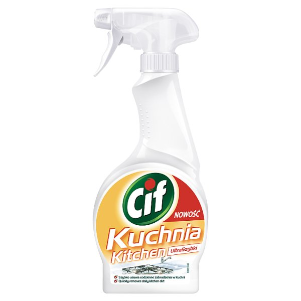 Cif UltraSzybki Kuchnia Spray 500 ml