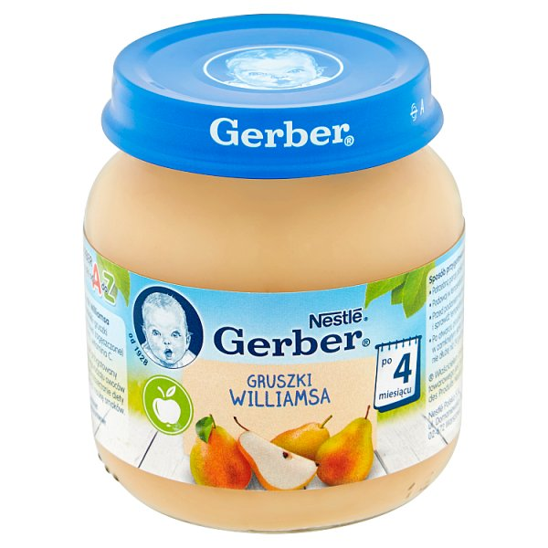 Owoce Gerber gruszka williamsa