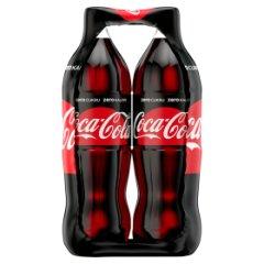 Coca-Cola zero Napój gazowany 2 x 1,5 l