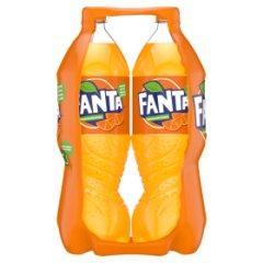 Fanta pomarańczowa 2x1,5l