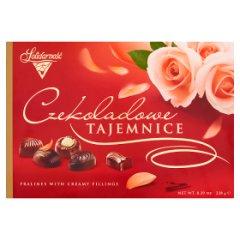 Czekoladki Solidarność czekoladowe tajemnice-tulipan