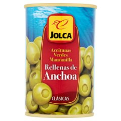 Jolca Oliwki zielone manzanilla z anchois 300 g