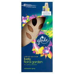 Glade by brise automatic spray lively floral garden
