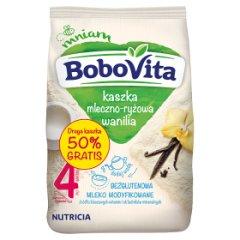 Kaszka Bobovita mleczno-ryżowa z waniliową 2x230g