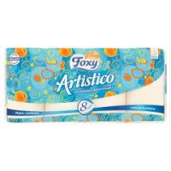 Papier toaletowy Foxy Artistico brzoskwinia /8rolek