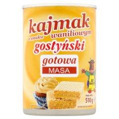 Mleko zagęszczone słodzone kajmak o smaku waniliowym