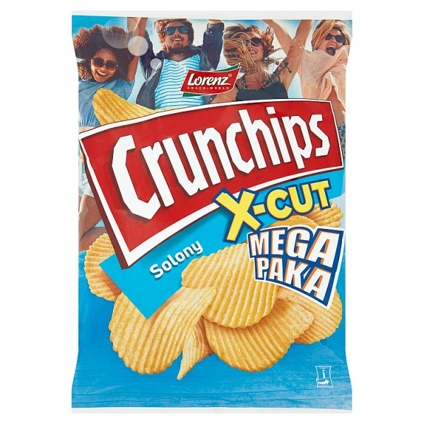 Chipsy Crunchips x-cut solony