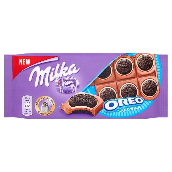 Czekolada Milka oreo cookies