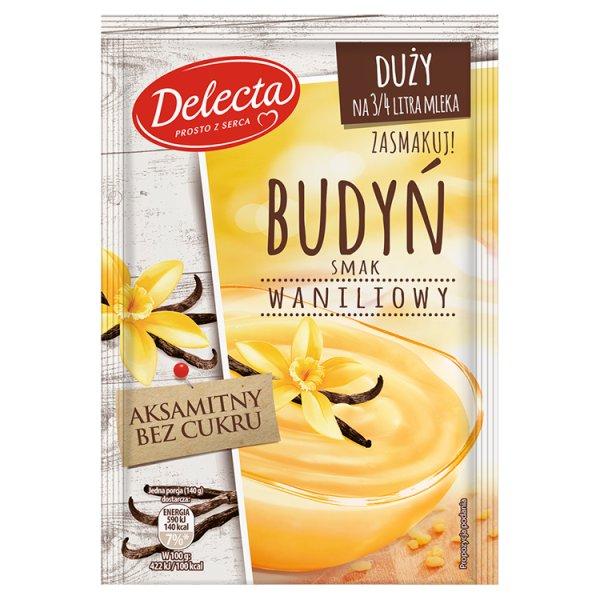 Delecta Budyń smak waniliowy 64 g