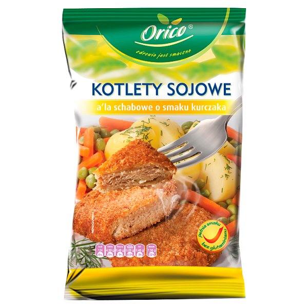 Kotlety sojowe o smaku kurczaka