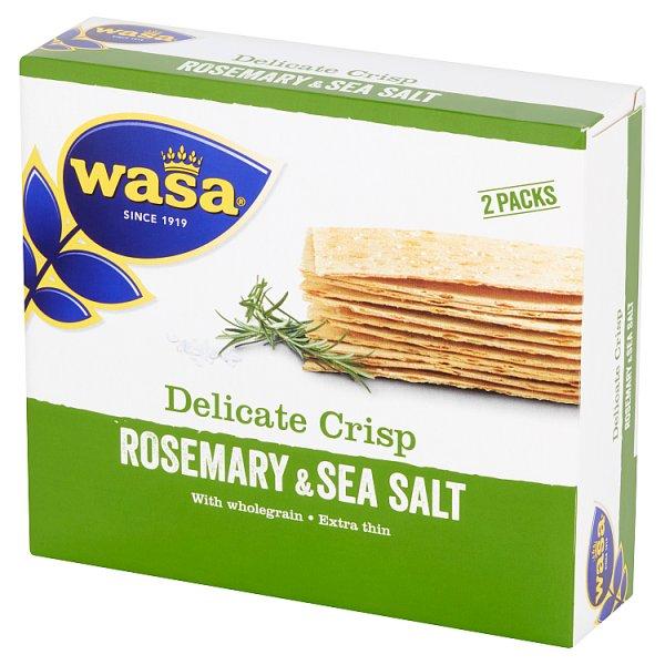 Pieczywo Wasa super cienkie z rozmarynem i solą morską