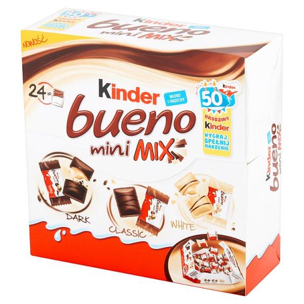 Wafelek Kinder Bueno mini mix