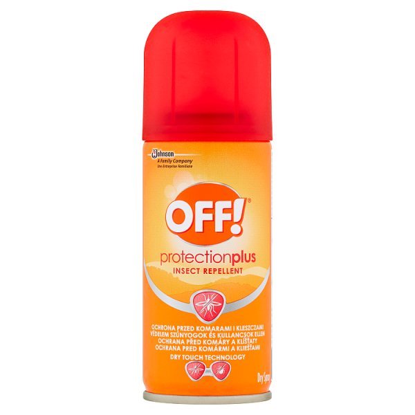 Off! protection plus dry aerozol