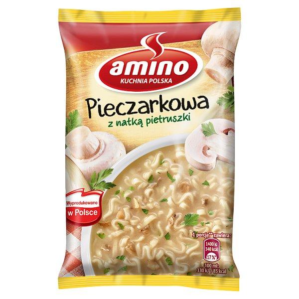 Zupa pieczarkowa amino