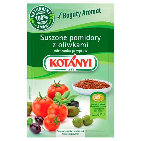 Kotányi Suszone pomidory z oliwkami mieszanka przypraw 22 g