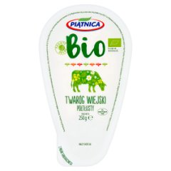 Piątnica Bio Twaróg wiejski półtłusty 250 g