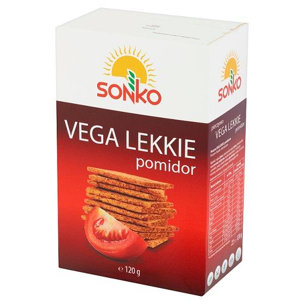 Sonko Pieczywo Vega Lekkie z pomidorem 120 g