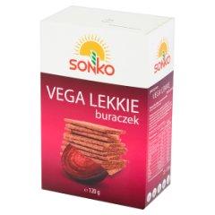 Sonko Pieczywo Vega Lekkie z czerwonym buraczkiem 120 g