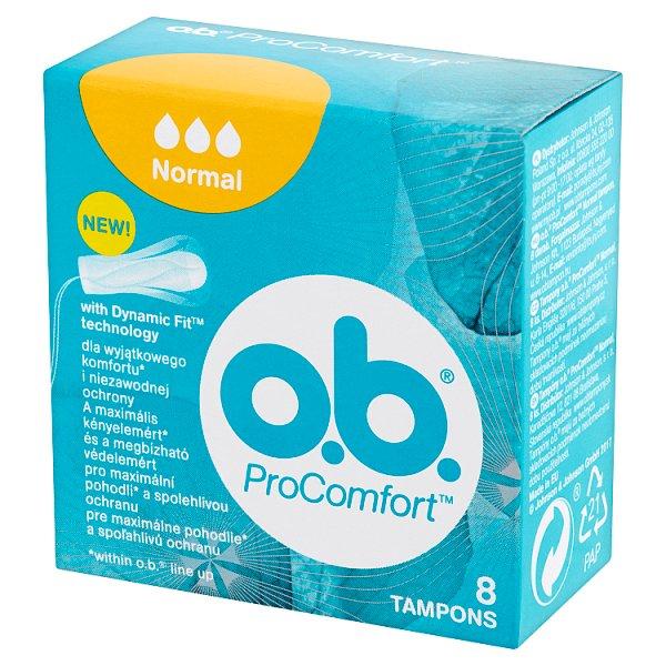 O.B. ProComfort Normal Tampony 8 sztuk