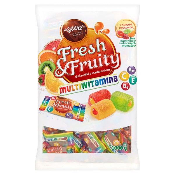 Galaretki fresh & fruity multiwitamina.