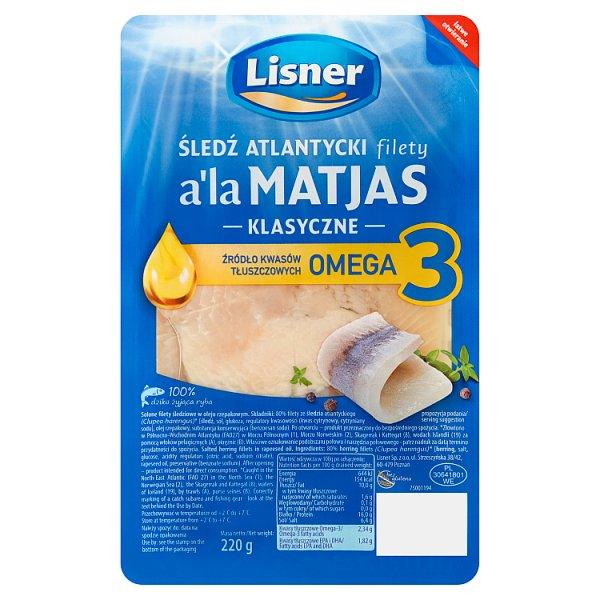 Filety śledziowe a'la Matijas w oleju