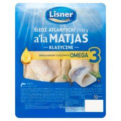 Filety śledziowe w oleju a'la Matjas
