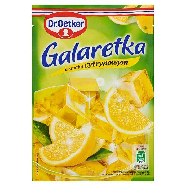 Galaretka Dr.Oetker cytrynowa