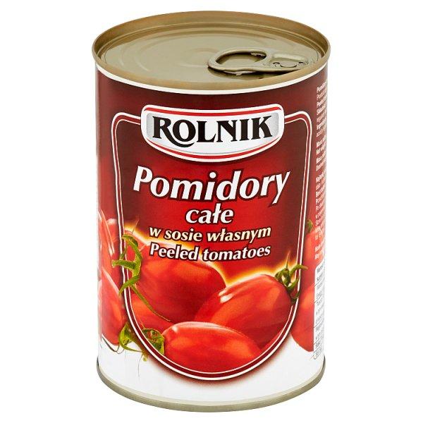 Pomidory Rolnik bez skórki