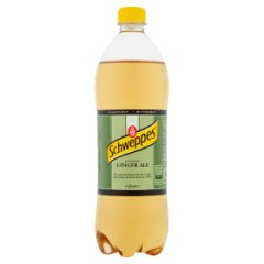 Schweppes Ginger Ale Napój gazowany 0,9 l