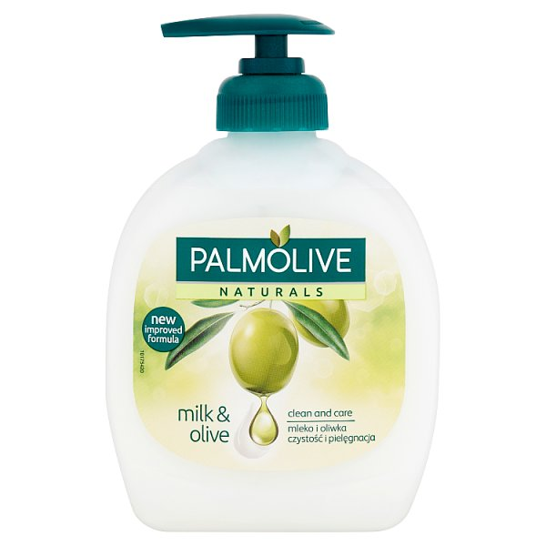 Mydło Palmolive oliwkowe