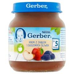Deser Gerber            krem z jabłek i suszonych śliwek