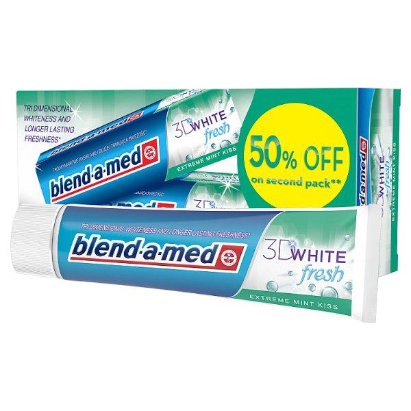 Blend-a-med Extreme Mint Kiss Pasta do zębów 2x100ml